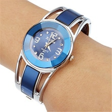 2019 Hot Sell Xinhua Bracelet Watch Women Luxury Brand Stainless Steel Dial Quartz Wristwatches Ladies Watch reloj mujer montre