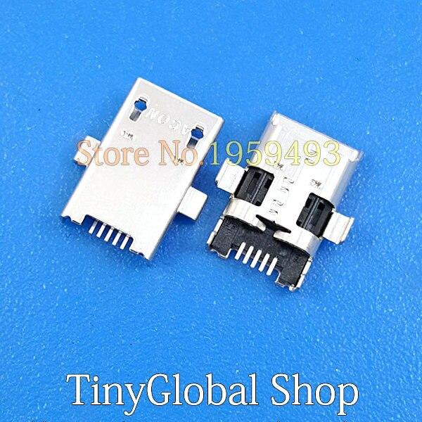 2 unids/lote Coopart de puerto de carga USB conector Dock para Asus ME103 K010 ME103K de K01 K01E ME372 ME301T ME180 ME102 k00f K004