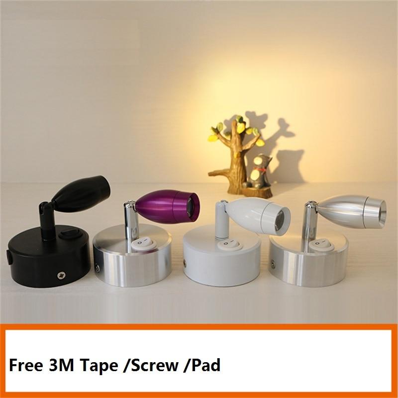 Lámpara de armario recargable de 1 W/3 W, boda, lámpara de escaparate de joyería, mesa de escritorio, techo, luz de batería led móvil de montaje de vidrio