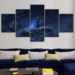 5 peça dragão noite rei jogo dos tronos temporada 8 filme cartaz pinturas uma canção de gelo e fogo cartaz pinturas para decoração de parede