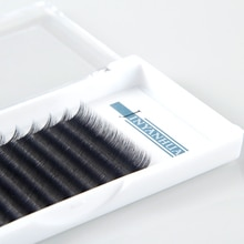 Camellia Eye lashes 12 Rows Individual Eyelashes Extensions 0.07mm Thickness Professional Natural So