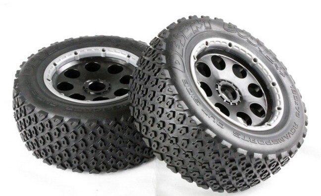 baja 5T rea wheel set (only rear)