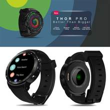 Yeni Zeblaze Thor PRO 3G GPS Smartwatch 1.53 inç 1GB + 16GB Android 5.1 MTK6580 1.0GHz sim Hava Parmak Izi akıllı saat telefon