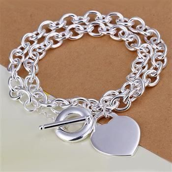 N245 925 sterling silver Necklace, 925 silver Pendant fashion jewelry  Center Signs To Necklaces  /a