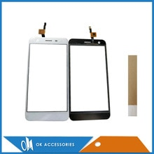 For Fly FS530 FS 530 Touch Screen Digitizer Panel New Mobile Phone Touch Screen White Black Color Wi