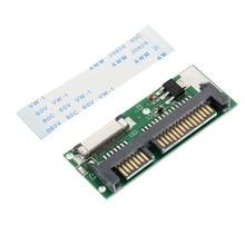 1.8 Inch 24 Pin SATA LIF HDD to Mini 7+15 Pin 22 Pin Male SATA Adapter Card With Cable Converter