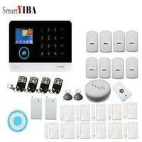 SmartYIBA     systeme dalarme anti-intrusion sans fil  wi-fi  GSM  controle par application  anti-cambriolage  Signal SOS  securite domestique