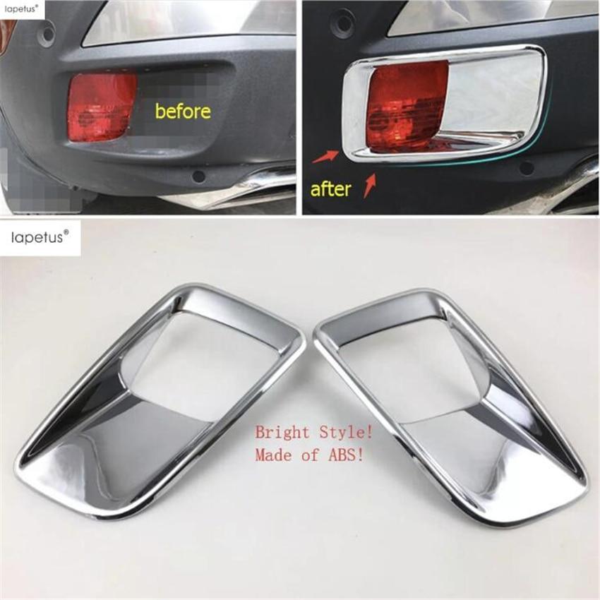 Accesorios Lapetus para Peugeot 3008 3008GT 2017-2020, parachoques trasero, luces antiniebla, Kit de cubierta de moldura de lámpara, embellecedor/ABS