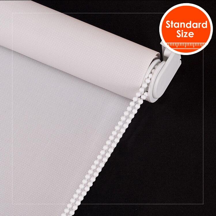 SCHRLING Base Sytem Roller Blinds 28mm alum tube Sunscreen Coarse Texture Fabric For Living room Kitchen Windows Standard Size