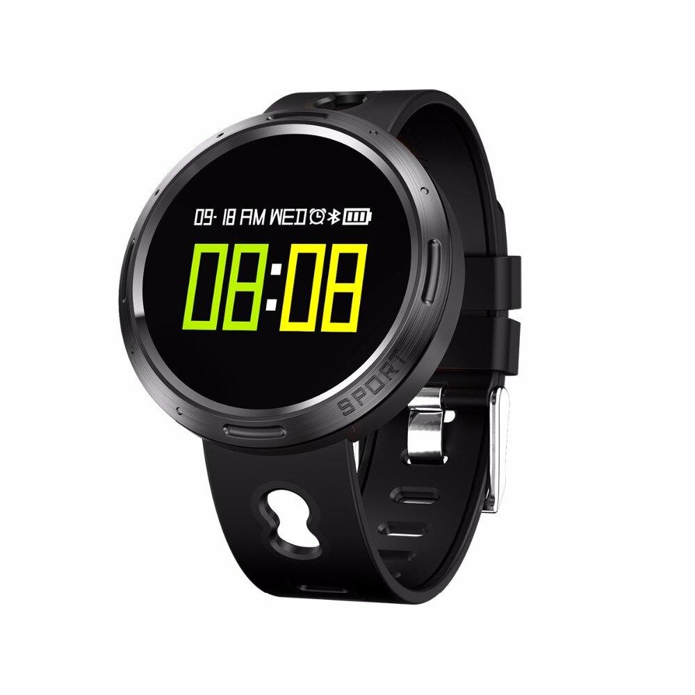 Pulsera inteligente a prueba de agua con pantalla tuch pulsera inteligente Monitor de ritmo cardíaco podómetro presión arterial de Fitness correa de reloj para Android
