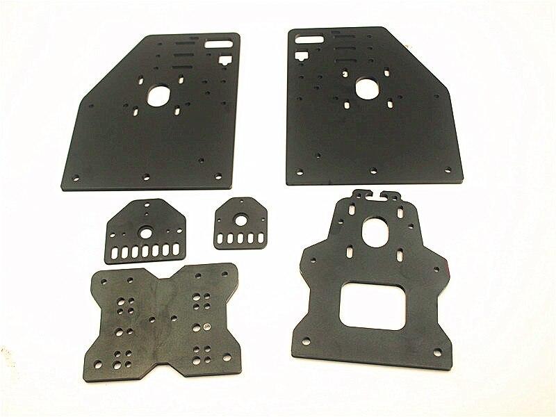 Funssor OX CNC алюминиевые пластины комплект OX CNC козловая пластина набор Openbuilds маршрутизатор OX CNC набор vslot с универсальной резьбовой пластиной
