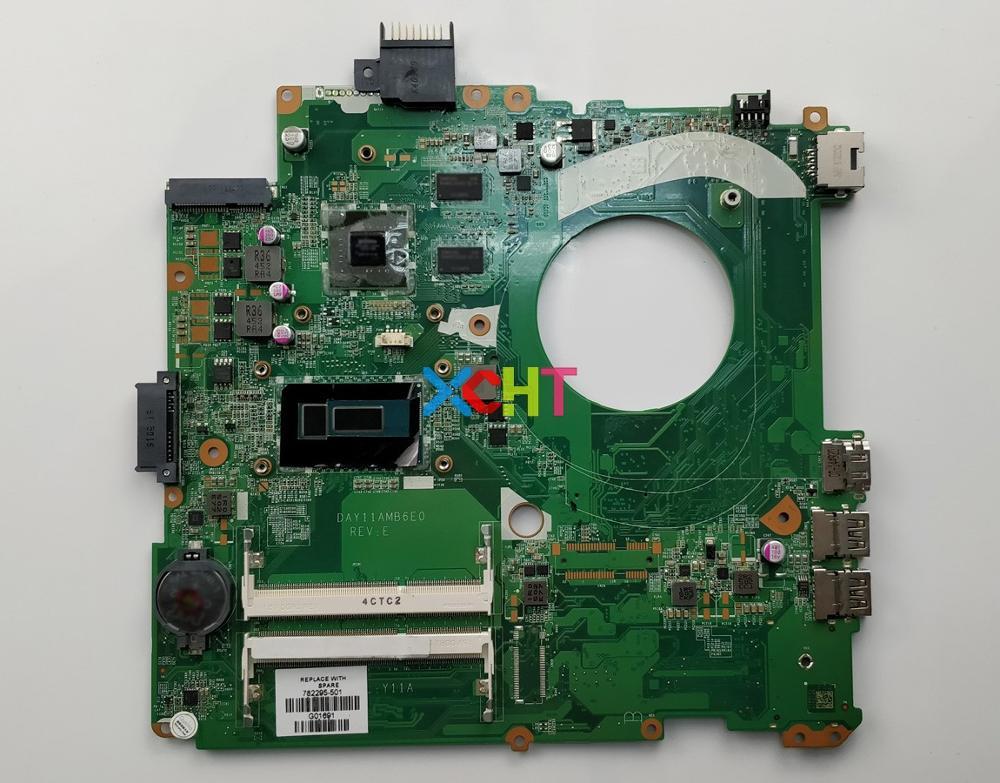 Para a HP ENVY 14T-V200 Pavilion 001 14-v204la 782295-501 782295-840 M/2 GB v i7-5500U CPU DAY11AMB6E0 Motherboard Mainboard Testado