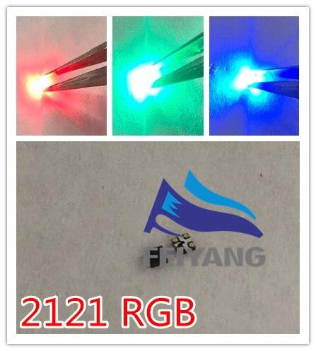 17000 Uds LED RGB diodos SMD 2121 LED pantalla de Panel de pantalla diodo 2121 SMD LED diodo Multicolor arco iris de luz Emitti