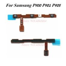 1 sztuk oryginalny ON OFF moc głośności przyciski boczne Flex cable dla Samsung P900 P901 P905 części zamienne