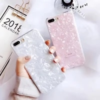 candy color conch shell phone case for iphone 11 x xr xs max 6s 6 7 8 plus se 2020 soft silicone cover luxury girls back cover