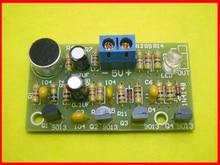 Frete grátis!! Interruptor bistable da batida do diodo emissor de luz colorido diy/produção eletrônica/módulo do interruptor do aplauso da voz