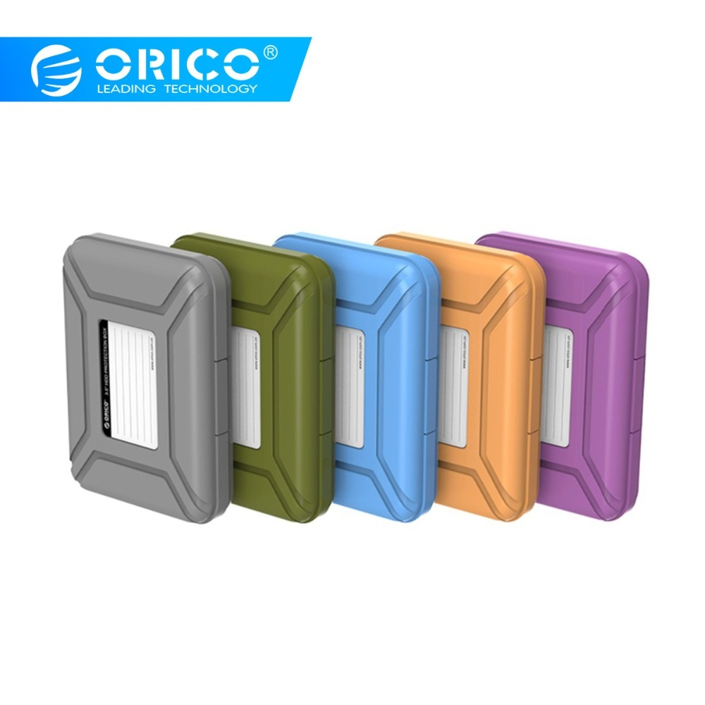 Orico, 3,5-дюймовый жесткий диск, сумка для внешнего хранения, жесткий диск, SSD, сумка для 3,5-дюймового жесткого диска, внешний аккумулятор, чехол для жесткого диска, защитная коробка для жесткого диска