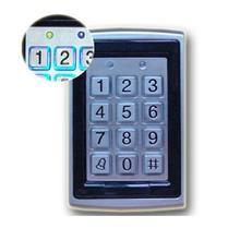 Lecteur RFID en métal verrouillage de porte   125kHz, clavier de contrôle daccès de porte de proximité, prise en charge de 7612 utilisateurs, mot de passe numérique électrique