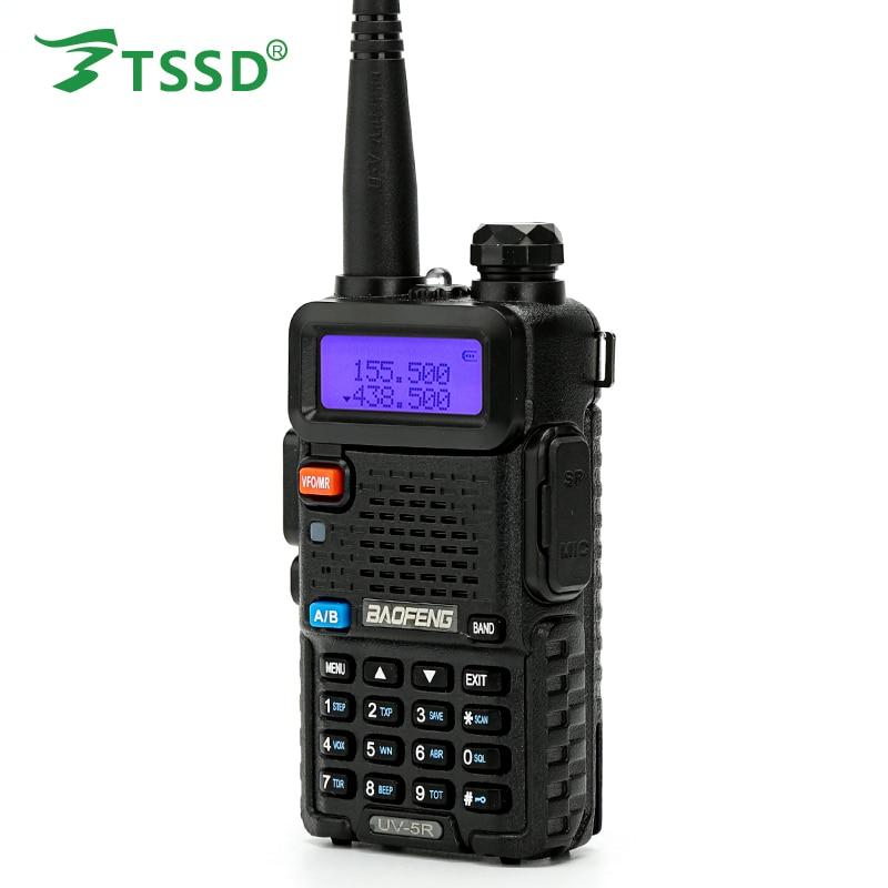 Dual Band Brand New BAOFENG UV-5R VHF UHF Two Way Radio with Earphone