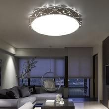 New Modern LED ceiling chandeliers for the living room bedroom kitchen ring chandelier lighting Ac90-260V Aluminum Fixtures