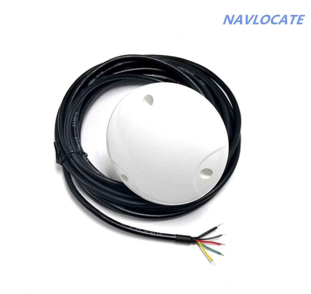 Nova rs232 12V-24 RS-232 GPS GLONASS Antena do receptor de 4800 taxa de transmissão, apoio Gnss 1-10 HZ rs232 Chip Projeto Do Módulo, NMEA0183.