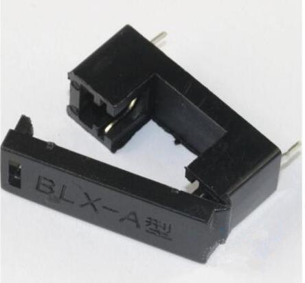 20pcs/lot BLX-A 5x20mm fuse holders 5X20 insurance tube socket fuse holder for 5*20 insurance fuse holder 23MM black