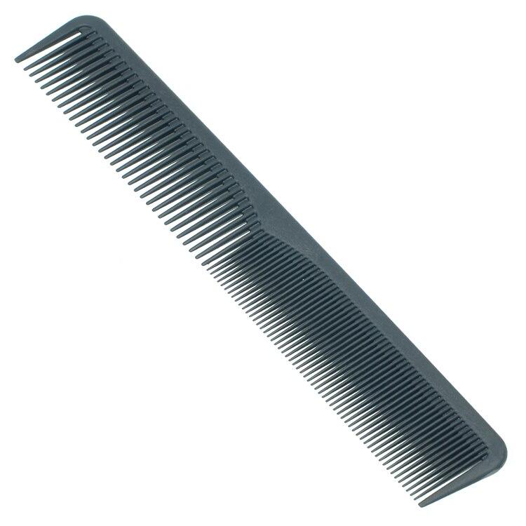2 uds negro de alta calidad Anti-estática peines de pelo Pro utensilio de peluquería de cuidado del cabello cepillos para Barbero LZN0028