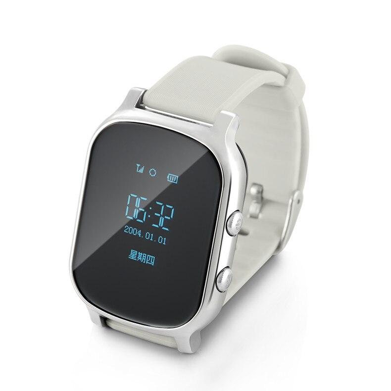 Reloj rastreador GPS para niños, pulsera gps para niños, botón de llamada con mapa de google, localizador gps personal android e iOS