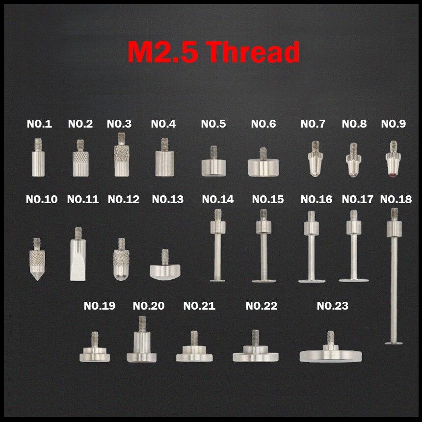 M2.5 поток HSS рубиновый вольфрамовый глобоидальный 60 градусов измерительный прибор для измерения головок Guage тестовый контактный уровень индикатор набора наконечник зонд