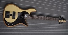Shelly new store custom Taiji alder body Yin yang bass 5 strings Fedora butterfly electric bass guitar musical instrument shop