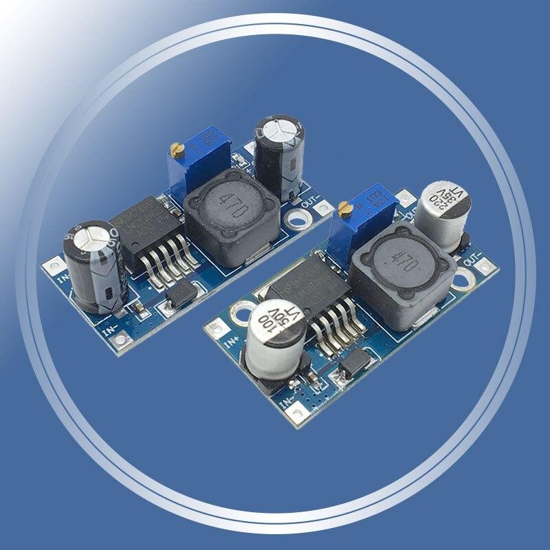 Lm2596s lm2596 DC-DC step-down módulo 5 v/12 v/24 v regulador de tensão ajustável 3a