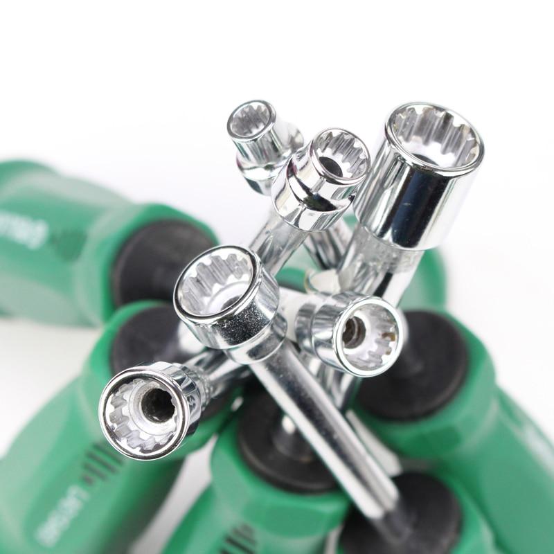 Шуруповерт LAOA, отвертка с резиновой ручкой, отвертка, инструмент, отвертка, отвертка, нескользящий Металл для шестигранных винтов