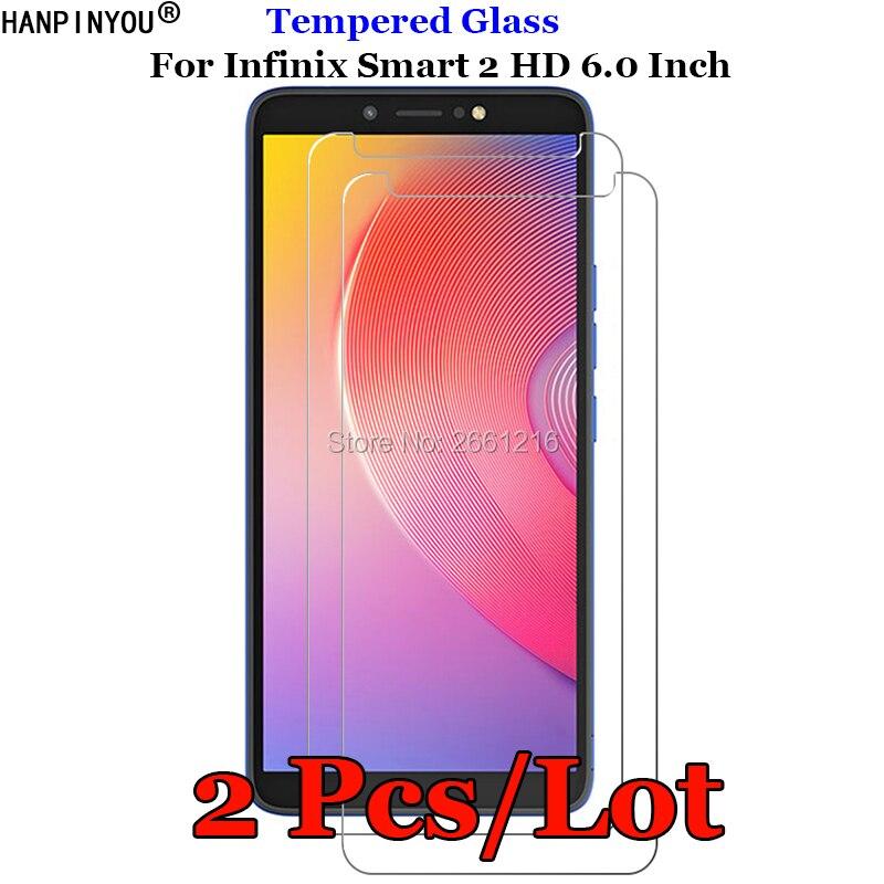 """2 шт./партия для Infinix Smart2 HD переднее жесткое закаленное стекло 9H 2.5D Защитная Пленка премиум класса для экрана Infinix Smart 2 HD 6,0"""""""