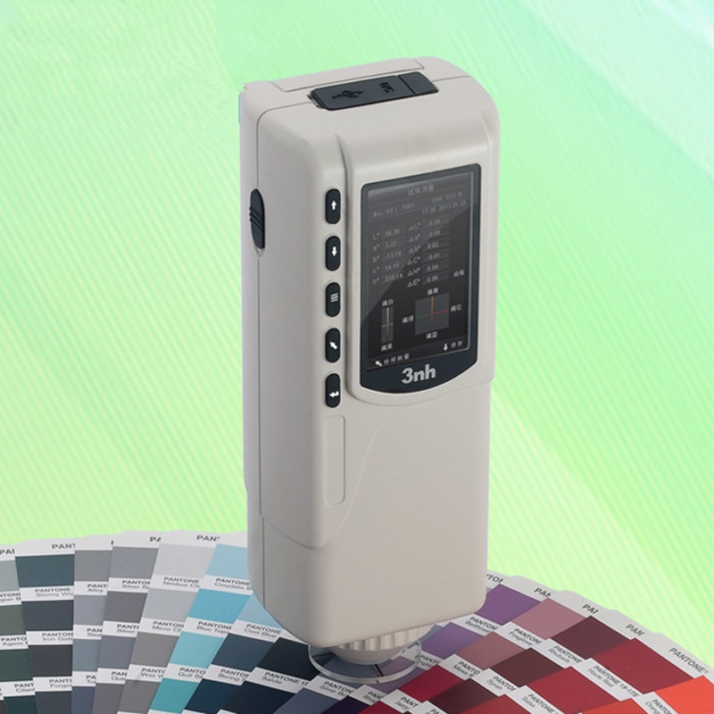 Medidor cromático NR60CP, medidor de diferencia de Color, colorímetro Digital, microordenador de precisión, analizador de Color, probador de Color