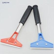 Grattoir 325x103mm pour enlever les autocollants   Enlèvement de colle, outil de nettoyage de verre de sol de la maison de la voiture, grattoir lames de rasoir