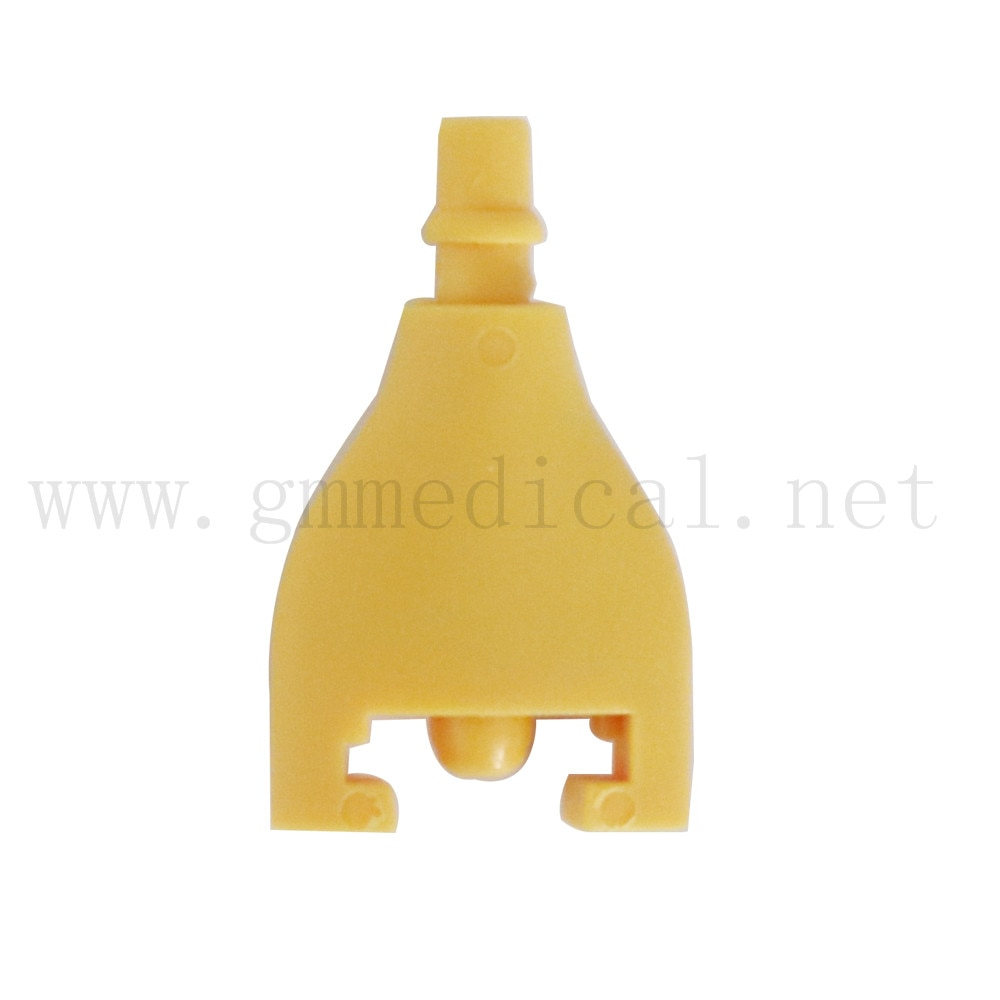 5 Pcs/Pack,NIBP Cuff Connector use with Philips M1597C air hose.yellow color.