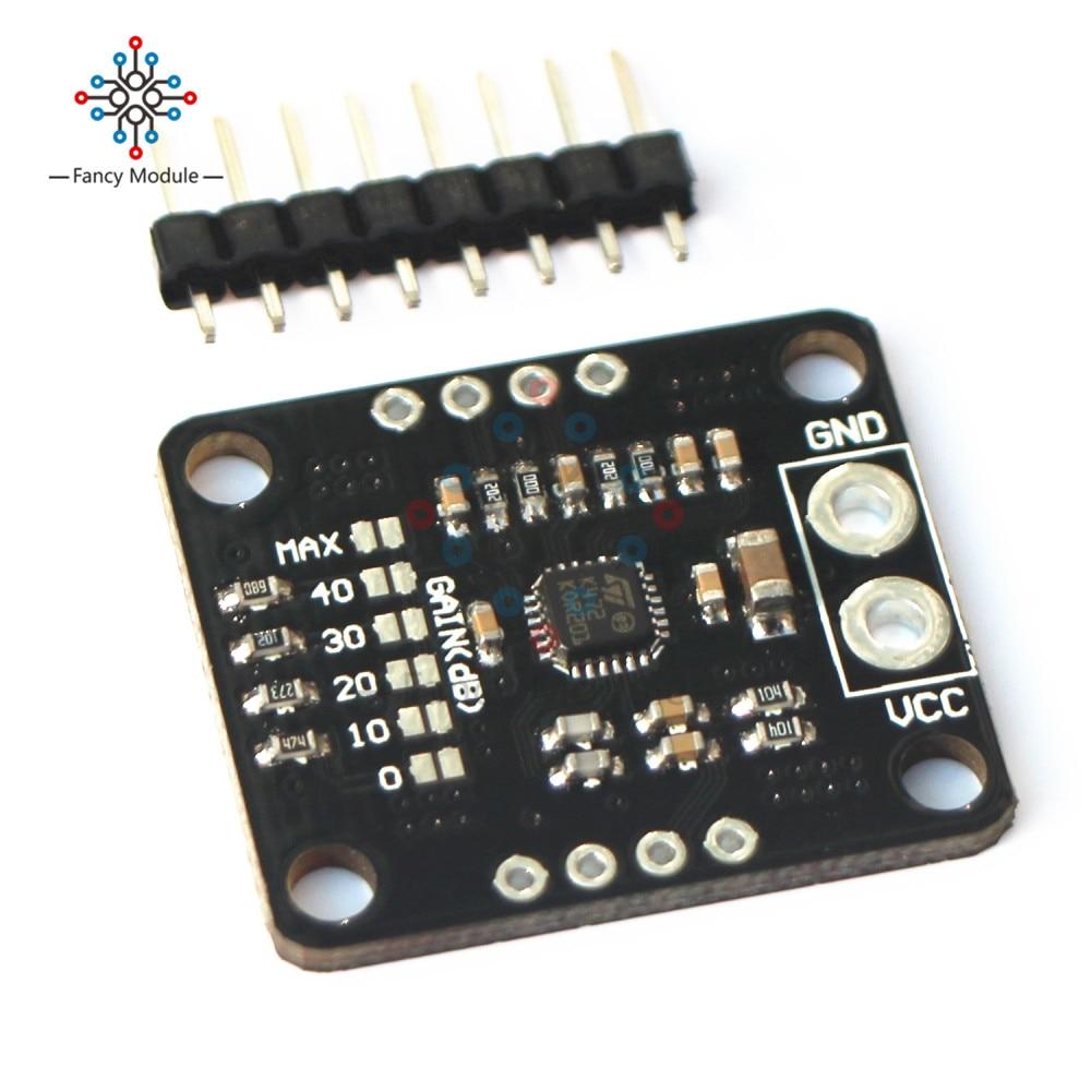 TS472 Elektret-mikrofon Low Noise Audio Vorverstärker Bord Sound Verstärker 2V Bias Ausgang Active Low Standby Modus Modul