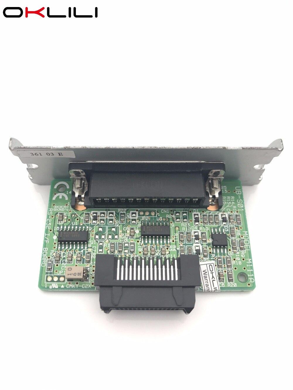 Адаптер для карты интерфейса C823361 C32C823361 UB-S01 M111A, модуль печатной платы для Epson TM U210 U290 U300 U370 U925