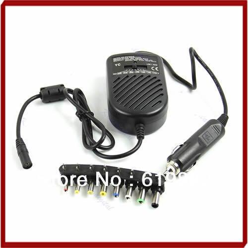 Universal dc 80 w carro adaptador de alimentação carregador automático conjunto para notebook portátil o25