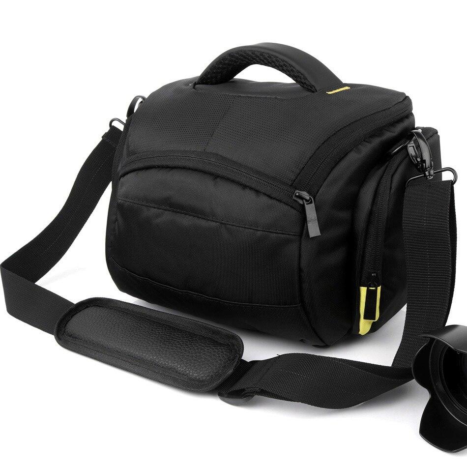 DSLR Fall Kamera Tasche Für Nikon D5300 D3400 D850 D7200 D7100 D7000 D5200 D5100 D5000 D3300 D3200 D3100 D7500 D80 d90 Schulter tasche