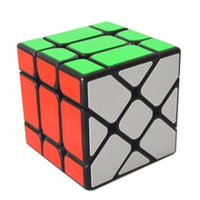 Cube magique professionnel 3x3x3 Cubes arc-en-ciel carré Puzzle vitesse classique jouets apprentissage et éducation pour enfants enfants TY0099