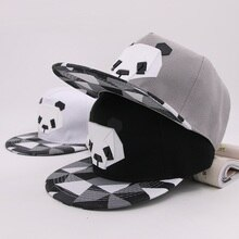 2020 Hot Cartoon Hats 3D Silicone Panda Animal Pattern Baseball Caps Snapback Hats For Girls Boys Hip-Hop Sun Hats For Adult