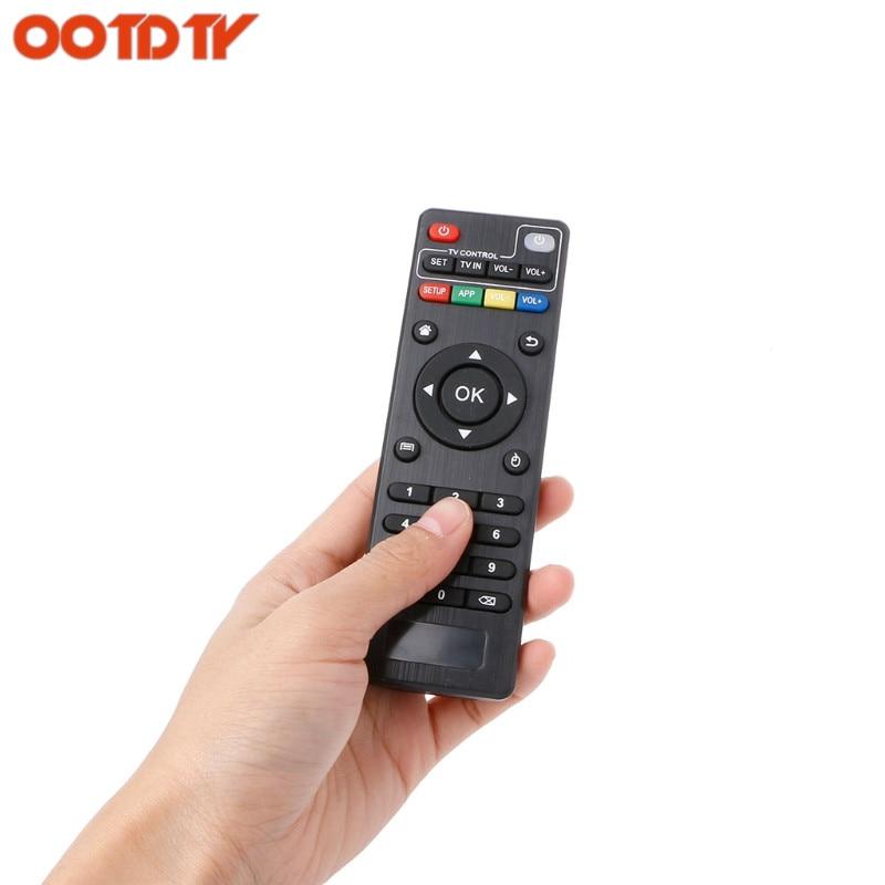 OOTDTY IR reemplazo de control remoto para Android TV Box H96 pro +/M8N/M8C/M8S/V88/X96 dropshipping. Exclusivo.