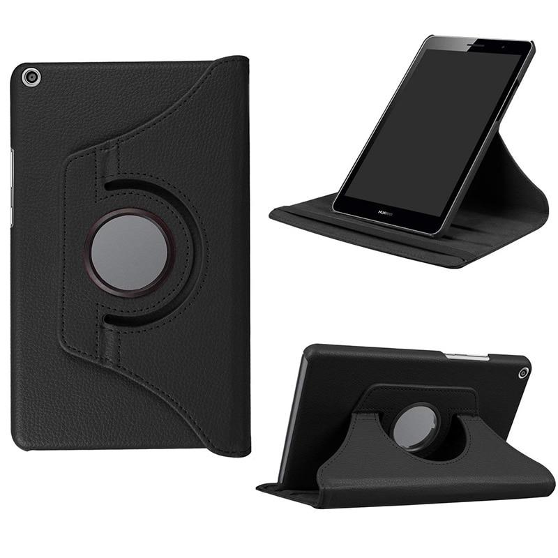 Funda delgada para Huawei MediaPad T3 8,0, funda de piel sintética con soporte para Huawei Honor Play Pad 2 KOB-W09/KOB-L09