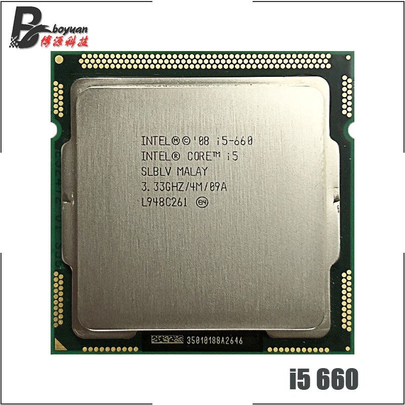 Intel Core i5 i5-660 660 Dual Core 3,3 GHz CPU procesador 4M 73W LGA 1156