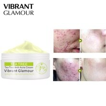 Tea Tree Anti-acne Face Cream Acne Scar Cream Shrink Pores Facial Eliminates Acnes Cream Skin Care Face Cream for Face TSLM2