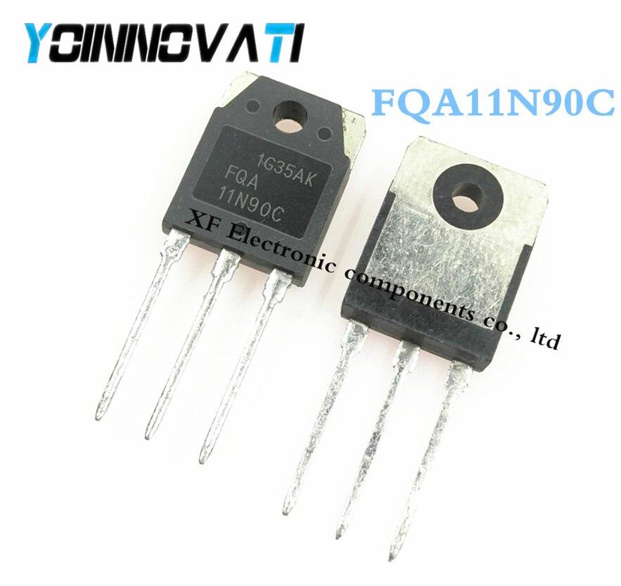 10 шт./лот FQA11N90 FQA11N90C 11N90 MOSFET N-CH 900V 11A TO-3P IC лучшее качество