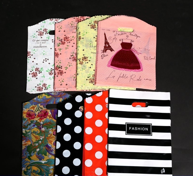 Free shipping high quality Gift Bag With Handle Wedding Birthday Party Favor Pink Paper Shopping Bag
