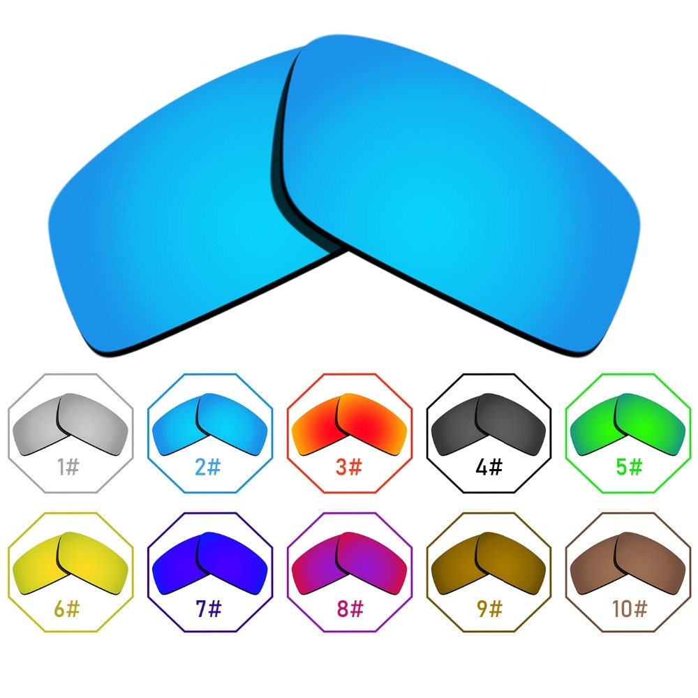 Polarized Replacement Lenses for Twitch Frame - Many Colors Anti-reflective Anti-water Anti-scratch