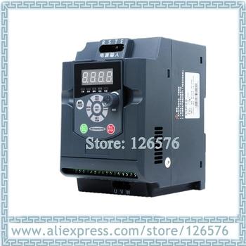 1.5KW AC220V/AC380V 0-1000hz VFD frequency inverter cnc spindle